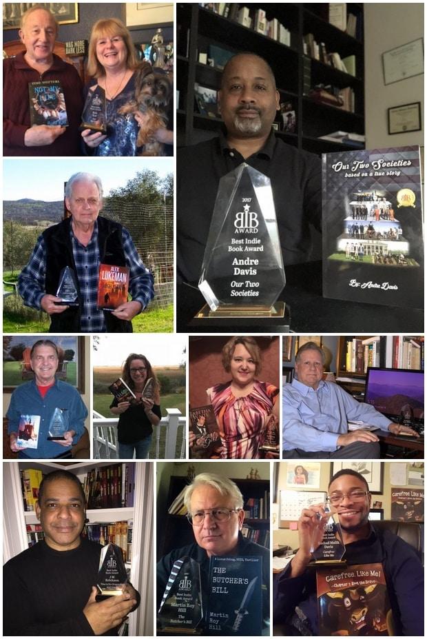 2017 BIBA Literary Award Winners